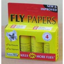 Fly papers