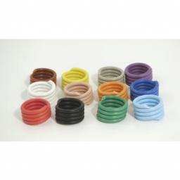 Poultry Rings Spiral Coil | Pack of 10 | Various Sizes