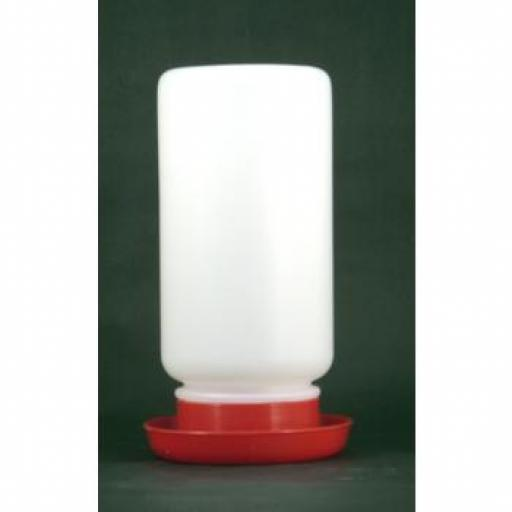 Plastic Jam Jar Drinker