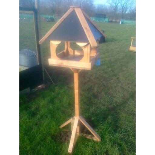 Bird Table 4 sided