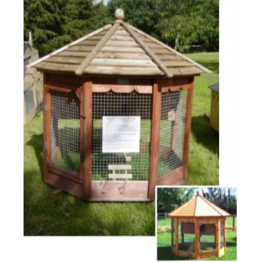Octagonal Garden Hen House