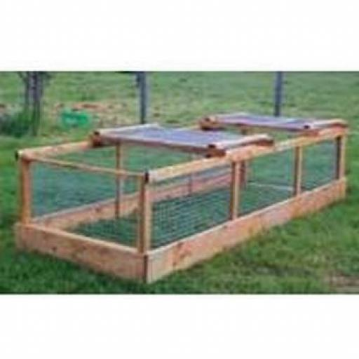 Easy Access Chicken Run 4ft