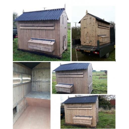 Walk-in poultry house