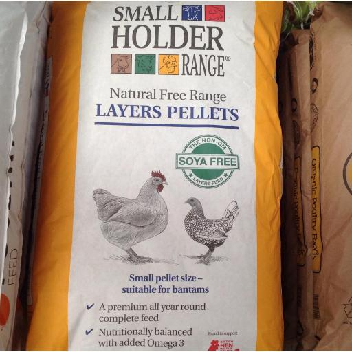 Natural Free Range Layers Pellets (20kg)