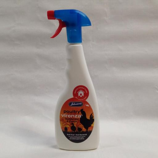 Poultry Virenza disinfectant and cleaner