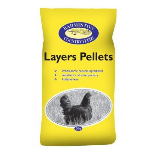 Badminton Layers Pellets (20kg)