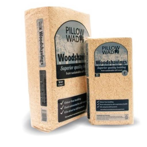 Pillow Wad Wood Shavings