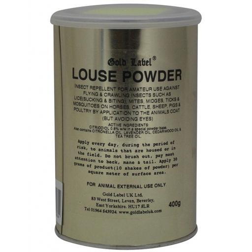 Gold Label Louse Powder 400g