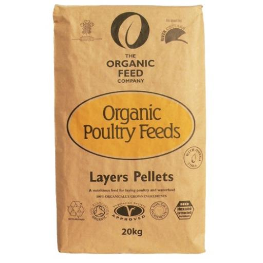Organic Poultry Layers Pellets (20kg)