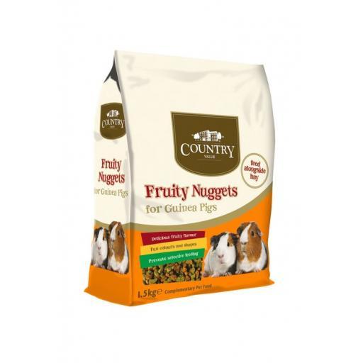 Fruity Mix Guinea Pig Nuggets (1.5kg)