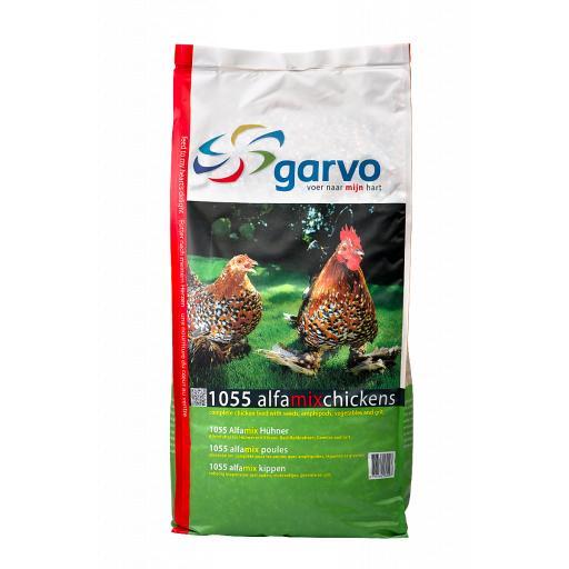 Garvo Alphamix Chickens (12.5kg + 4kg)